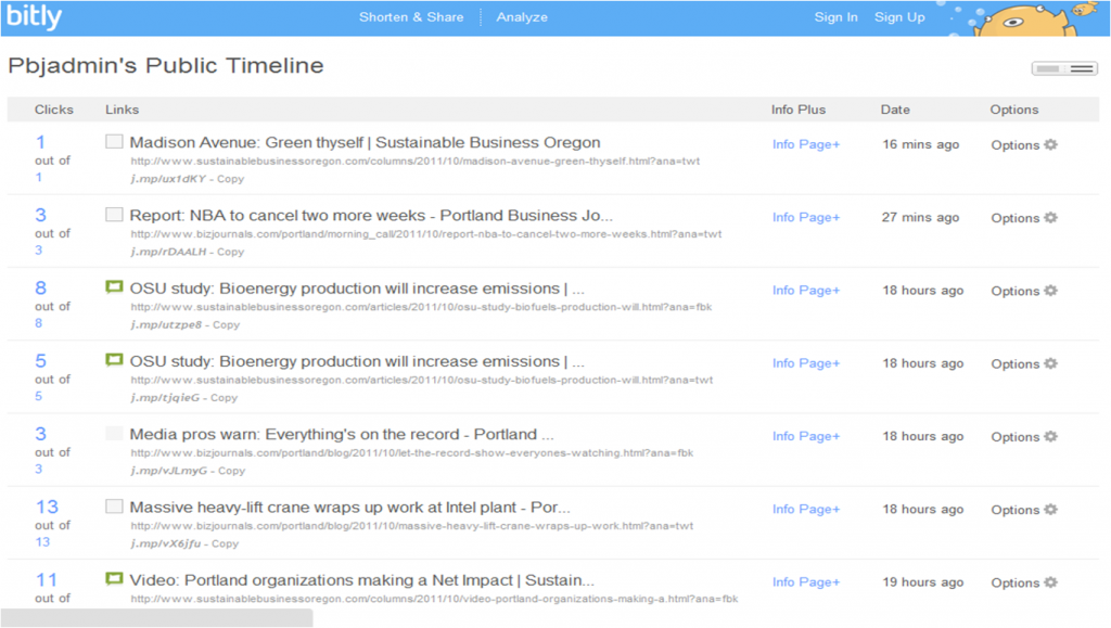 Public Timeline for the Portland Business Journal account