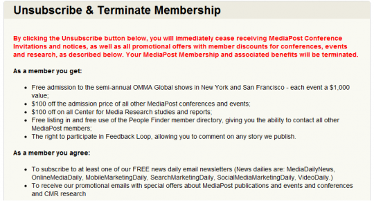 Center for Media Research Unsubscribe