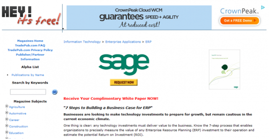 Sage's White Paper on Hey It's Free