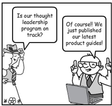 Thought Leadership Marketing Comic