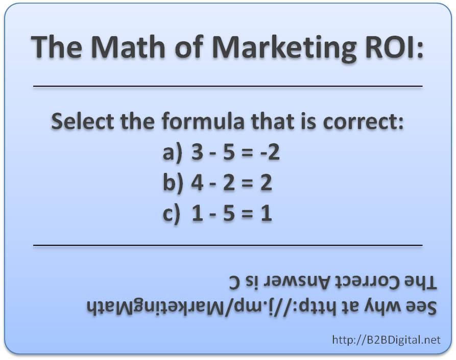 marketing math This is marketing math 1: fixed & variable costs by harrison metal on vimeo,  the home for high quality videos and the people who love them.