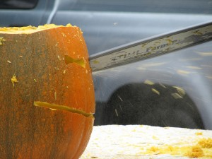 Chainsaw Pumpkin